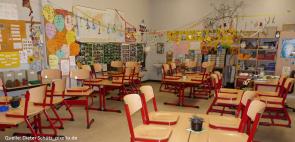 klassenraum (Gewalt gegen Grundschullehrer nimmt zu)