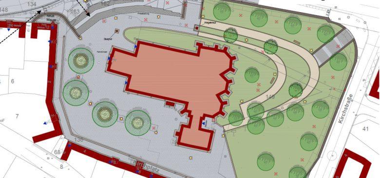 kirchplatz01 (Kirchplatzumbau ist Teil eines Gesamtpaketes / Status nach Info-Veranstaltungen)