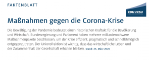 cdu-csu-fraktion-1 (CDU/CSU-Fraktion gibt wichtige Hinweise)