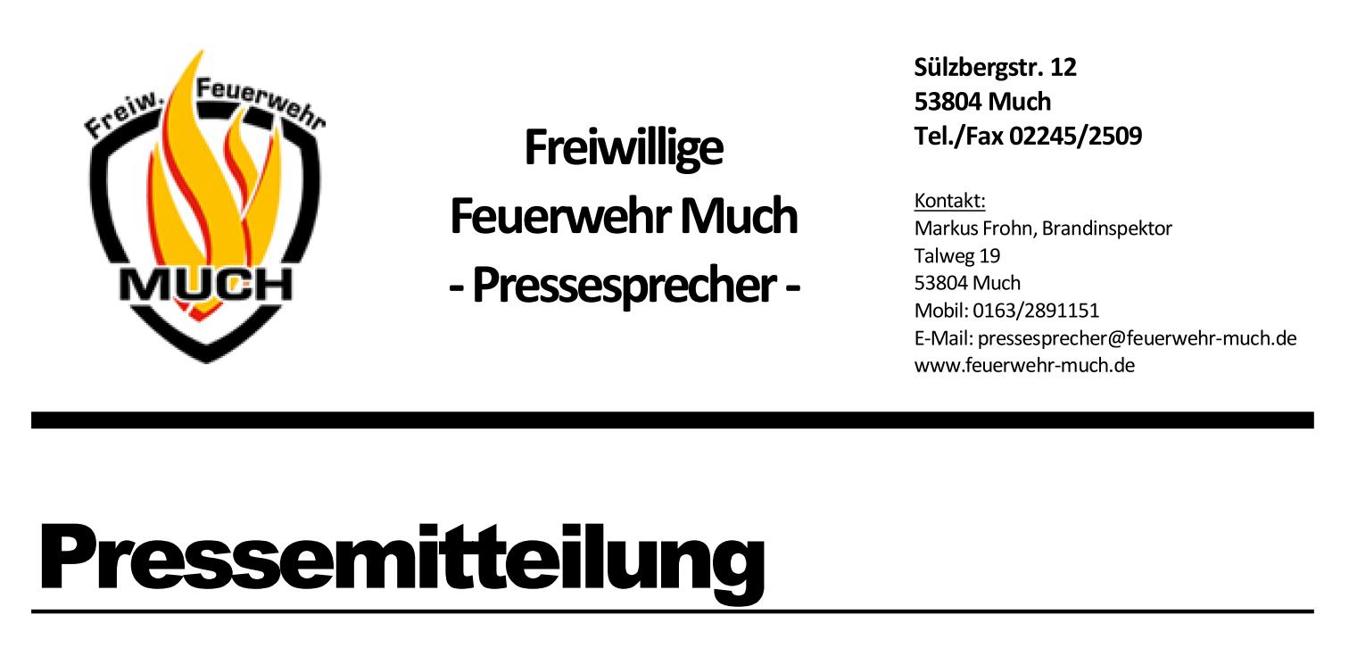 feuerwehr-much (Feuerwehr Much: Spatenstich in die Zukunft)