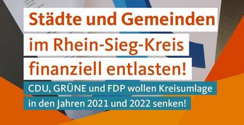 kreisumlage (Gute Nachrichten aus Rhein-Sieg zur Kreisumlage)